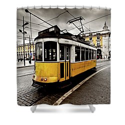 Downtown Shower Curtain by Jorge Maia