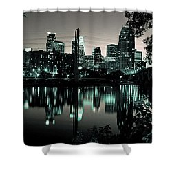 Downtown Minneapolis At Night II Shower Curtain
