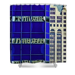 Downtown Mke Shower Curtain