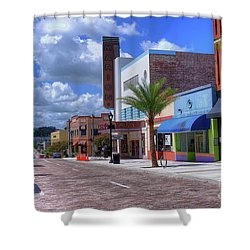 Downtown Ocala Theatre Shower Curtain