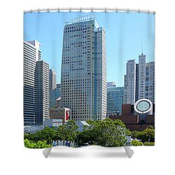 Shower Curtain featuring the photograph Downtown San Fransisco by Mike McGlothlen