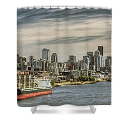 Downtown Seattle Shower Curtain