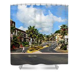 Downtown Tamuning Guam Shower Curtain