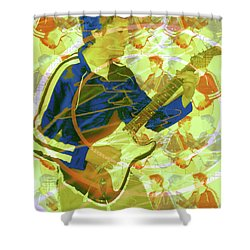 Dr. Guitar Shower Curtain