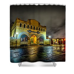 Shower Curtain featuring the photograph Dr Pepper Museum by David Morefield