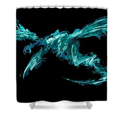 Draconus Beryluvias Shower Curtain