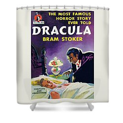Dracula Shower Curtain