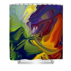 Dragon Breath Shower Curtain