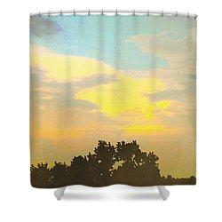 Dragon Cloud Shower Curtain