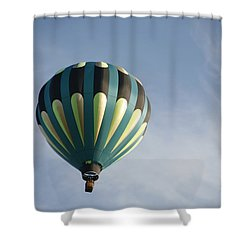 Dragon Cloud With Balloon Shower Curtain