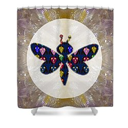 Dragon Fly Cute Painted Face Cartons All Over Donwload Option Link Below Personl N Commercial Uses Shower Curtain