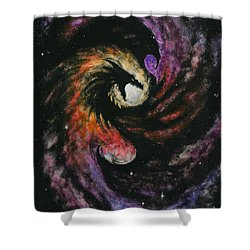 Dragon Galaxy Shower Curtain