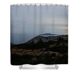 Dragon Island Shower Curtain