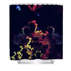 Dragons - Abstract Fantasy Art Shower Curtain