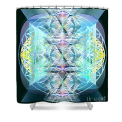 Dragon's Chalice Shower Curtain