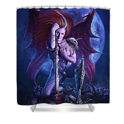 Drakaina Shower Curtain