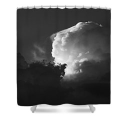 Drama In A Western Sky Shower Curtain
