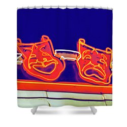Drama Shower Curtain