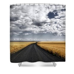 Drama On The Horse Heaven Hill Shower Curtain