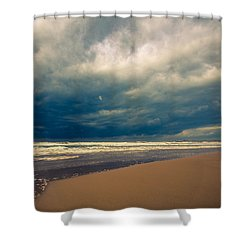 Dramatic Clouds Of Winter Shower Curtain