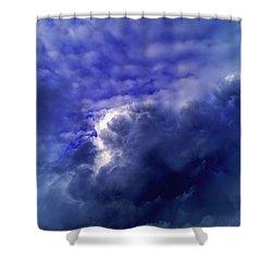 Dramatic Cumulus Sky Shower Curtain