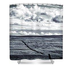 Dramatic Landscape  Shower Curtain