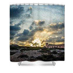 Dramatic Sunset Shower Curtain