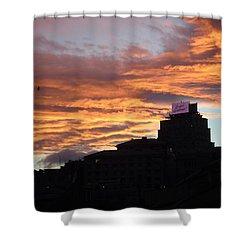 Drammatic Sky Shower Curtain