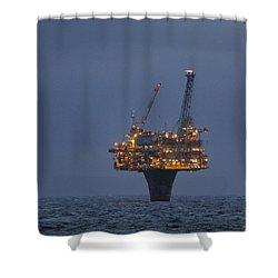 Draugen Platform Shower Curtain