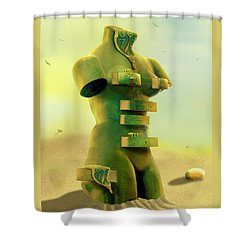 Drawers 2 Shower Curtain by Mike McGlothlen