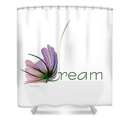 Shower Curtain featuring the digital art Dream by Ann Lauwers