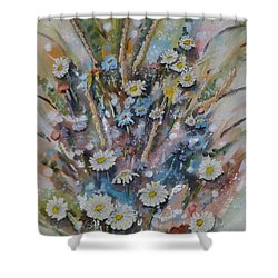 Dream Bouquet Shower Curtain by Kelly Mills