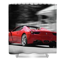 Dream Car Shower Curtain