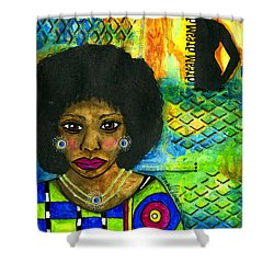 Dream Catcher Shower Curtain by Angela L Walker