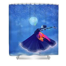 Dream Dancing Shower Curtain