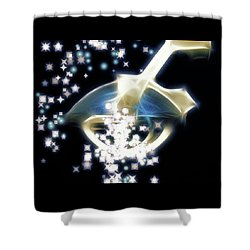 Dream Infusion Shower Curtain