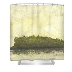 Dream Island I Shower Curtain