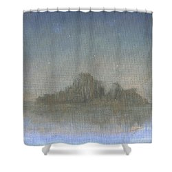 Dream Island Vl Shower Curtain