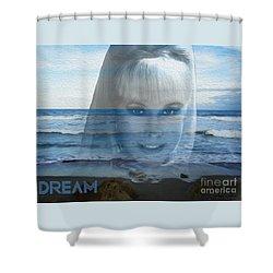 Dream Shower Curtain by Megan Dirsa-DuBois