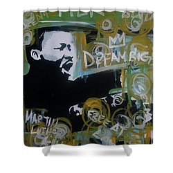 Dream Moore Shower Curtain
