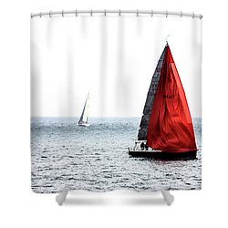 Dream Of Red Shower Curtain