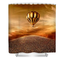 Dream Shower Curtain by Jacky Gerritsen