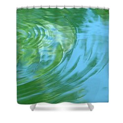 Dream Pool Shower Curtain by Donna Blackhall
