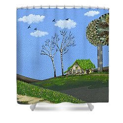 Dream Refuge Shower Curtain