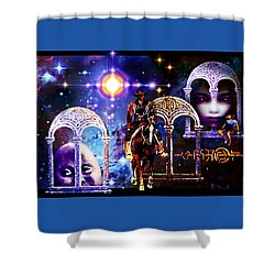 Dream  Rider Shower Curtain