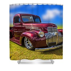 Dream Truck Shower Curtain
