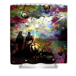 Dream Walking Shower Curtain