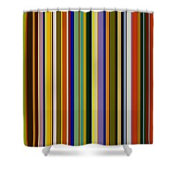 Dreamcoat Designs Shower Curtain