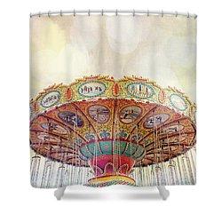 Dreamer - Nostalgic Summer Carnival Shower Curtain
