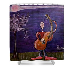 Dreamers 13-001 Shower Curtain by Mario Perron